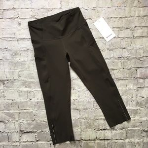 """NEW Lululemon Fast and Free 19"""" Reflective Tights"""